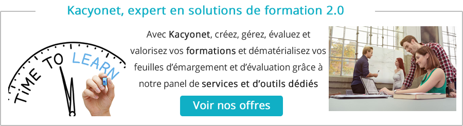 Solutions de formation 2.0 - Logiciel e-learning