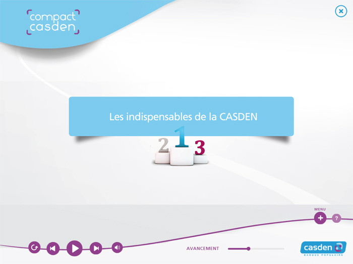 "Casden : E-learning ""Compact Casden"""