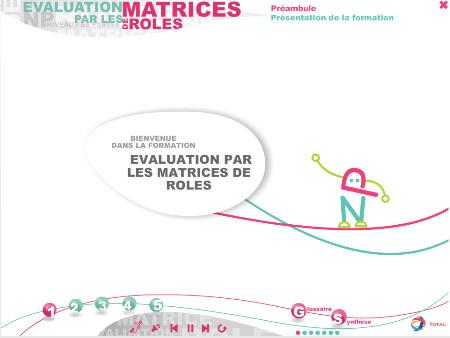 """Formation """"Matrices de rôles"""" pour Total"""
