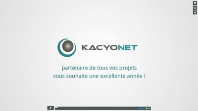 Kacyonet vous souhaite une bonne année 2015