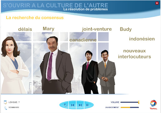 """Total : Formation """"Travailler dans un contexte multiculturel"""""""
